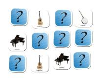 Jeu de mémoire : Les instruments à cordes