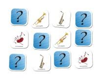 Jeu de mémoire : Les instruments à vent